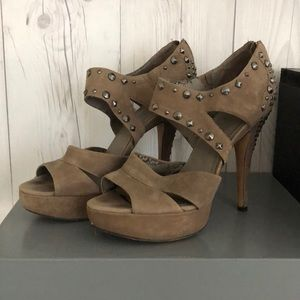 Vince Camuto studded heel